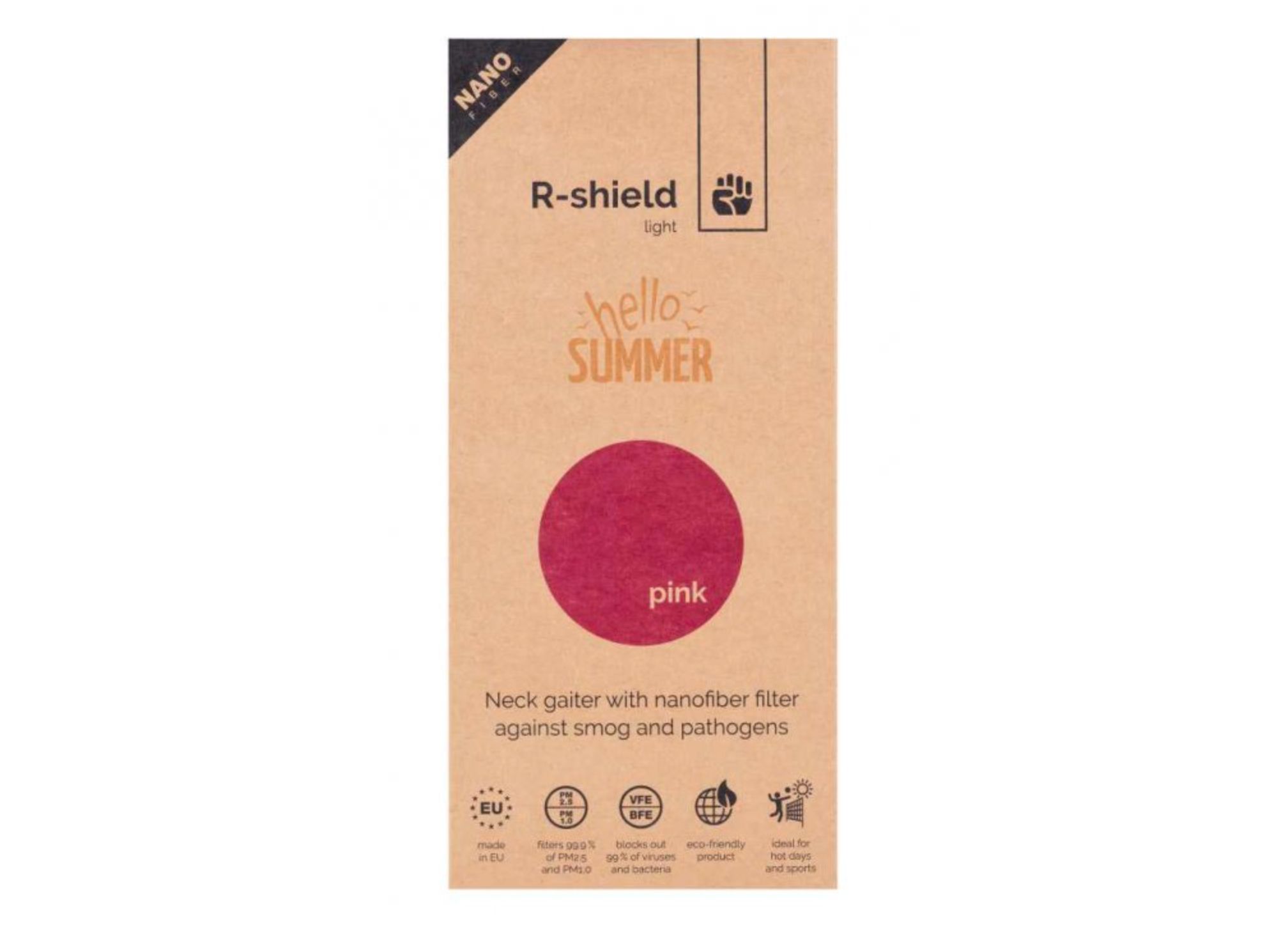 R-shield Pink - Light / Classic
